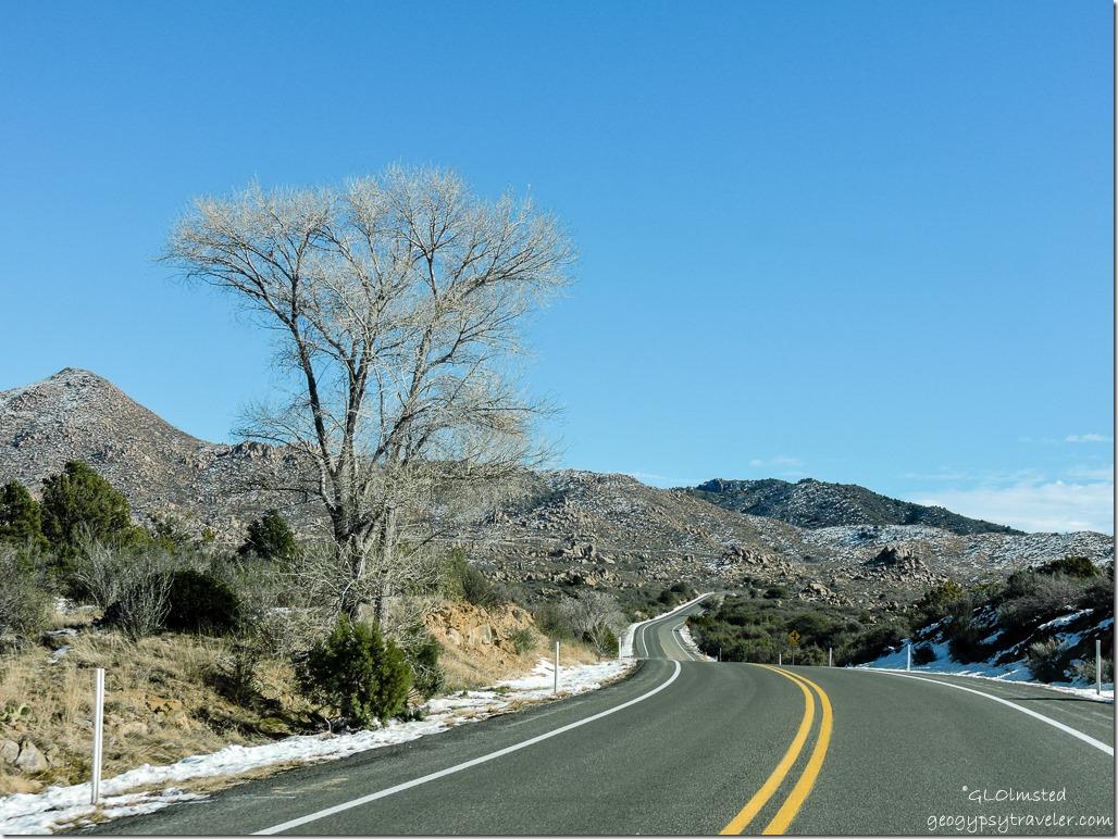 Iron Springs Road North Prescott National Forest Arizona