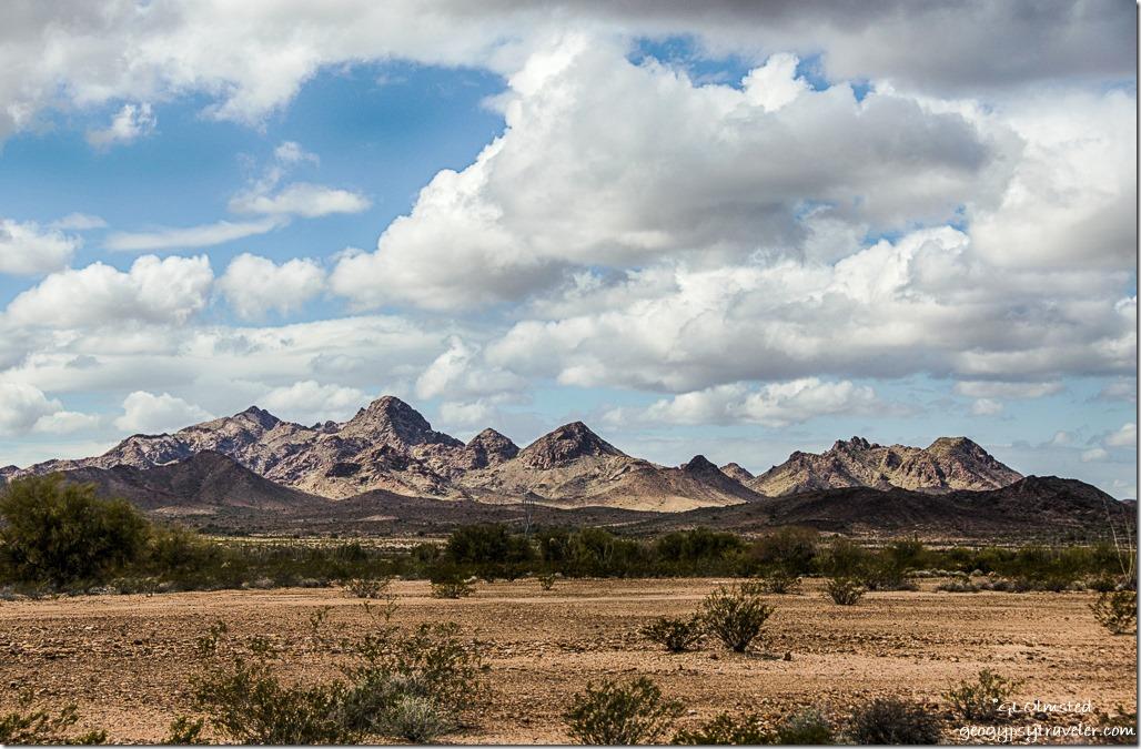 Southwest Chocolate Mountains King Road BLM Arizona