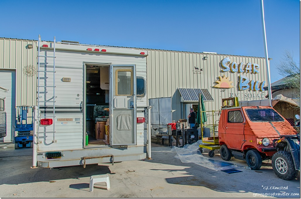 Truckcamper Solar Bill Quartzsite Arizona