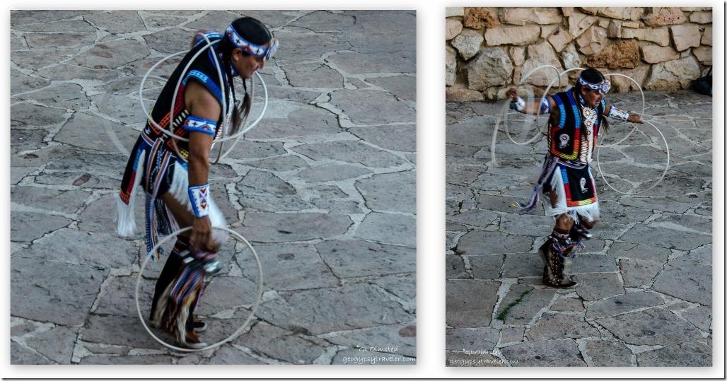 Derrick Suwaima Davis hoop dancing Heritage Days North Rim Grand Canyon National Park Arizona