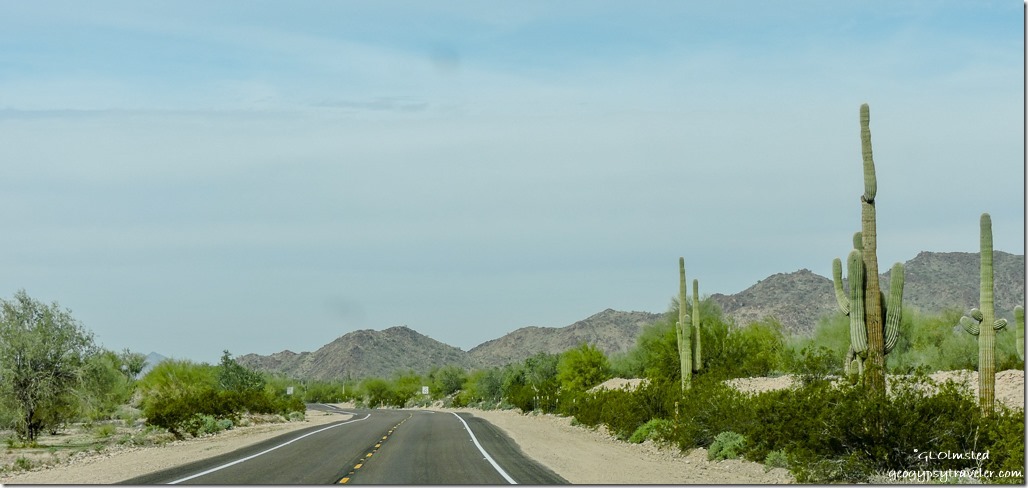 Maricopa Mountains SR283 West Maricopa County Arizona