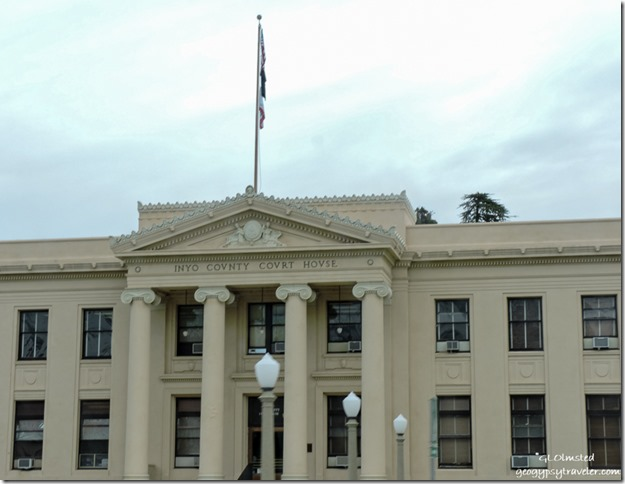 Inyo County Courthouse Independence California