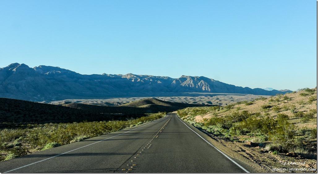 Badlands Lakeshore Drive Lake Mead National Recreation Area Nevada