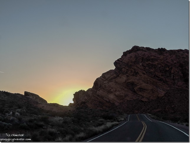 Sunset Valley of Fire State Park Nevada