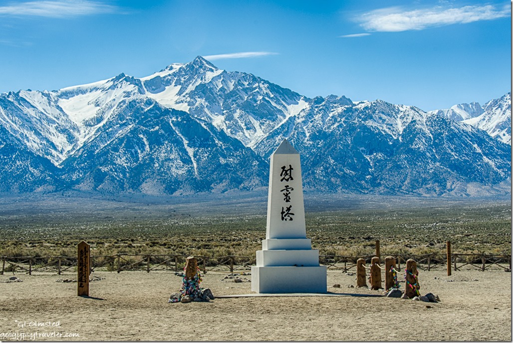 cemetery Manzanar National Historic Site Independence California