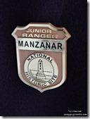 Junior Ranger badge Manzanar National Historic Site Independence California