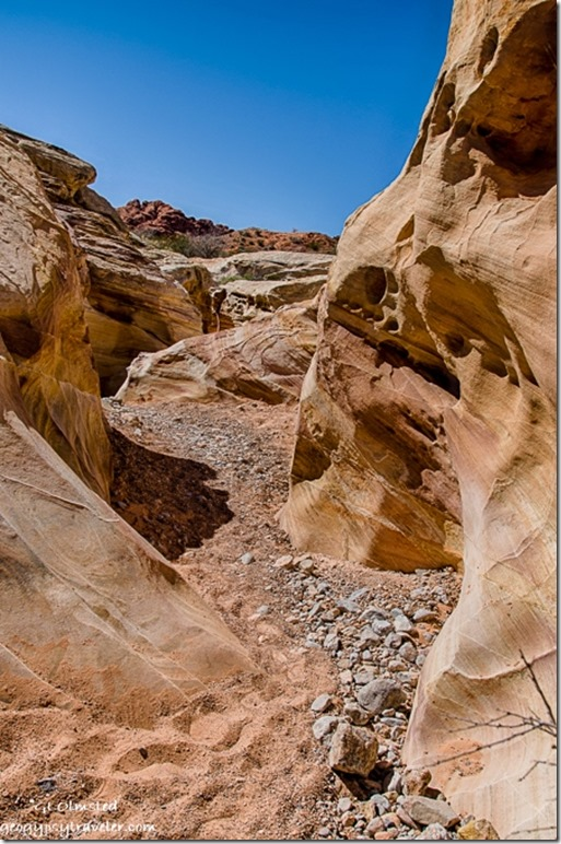 Colorful sandstone Prospect trail Valley of Fire State Park Nevada