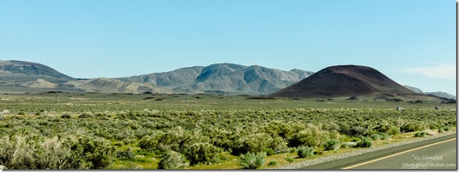 Red Hill US395 South Fossil Falls BLM California