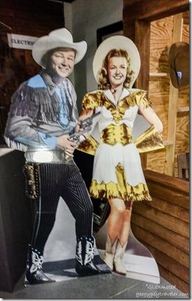 Roy Rogers & Dale Evans Museum of Westren Film History Lone Pine California