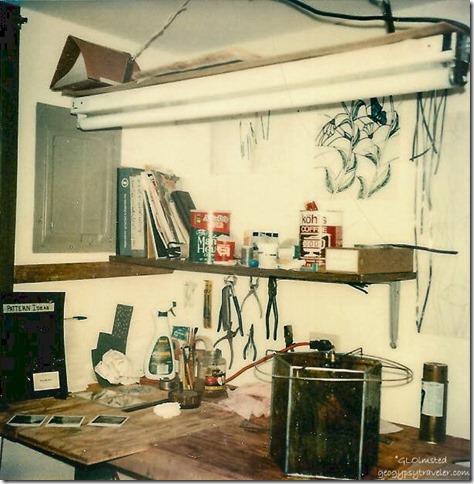 Workbench in laundry room Hanover Park Illinois