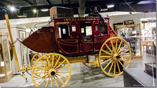 Stage coach Museum of Westren Film History Lone Pine California