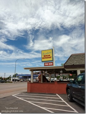 Escobars Mexican restaurant Kanab Utah