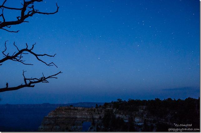 stars Angels Window Cape Royal North Rim Grand Canyon National Park Arizona