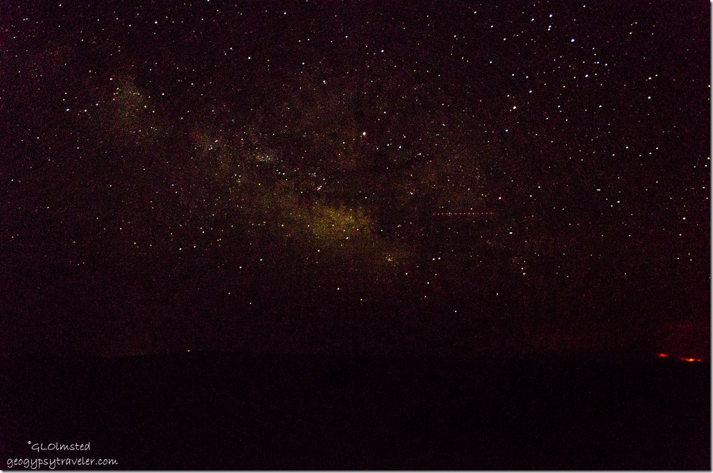 stars milky way Cape Royal North Rim Grand Canyon National Park Arizona