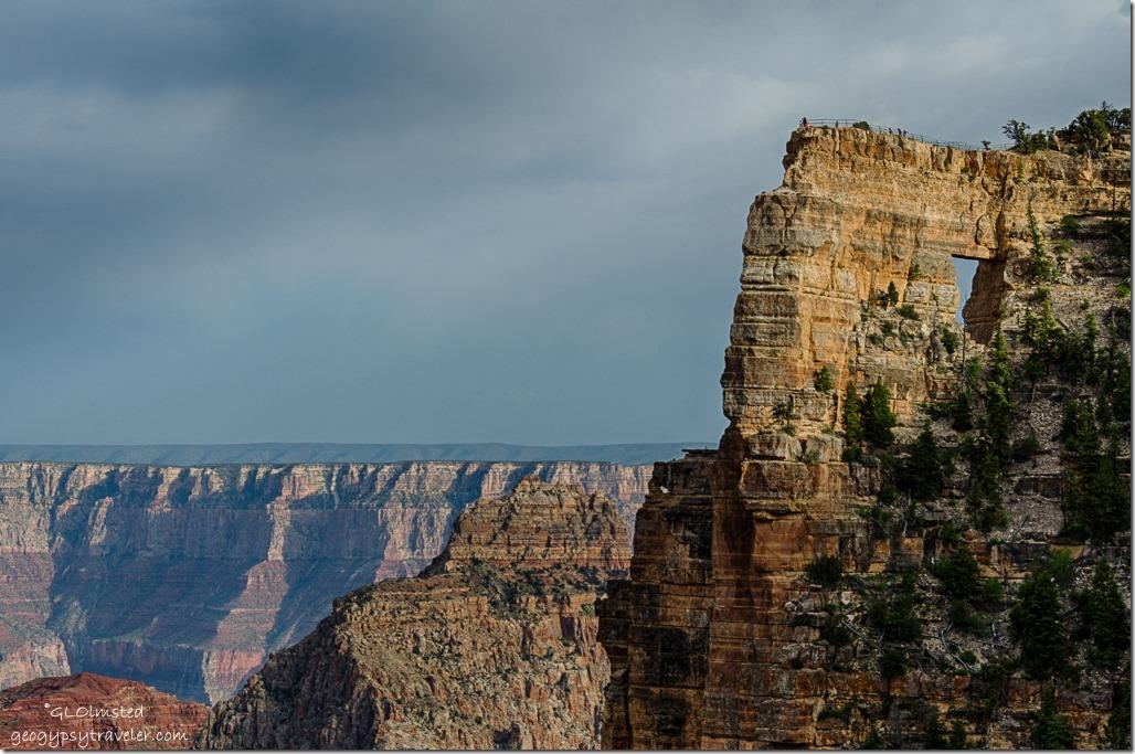 Angels Window North Rim Grand Canyon National Park Arizona