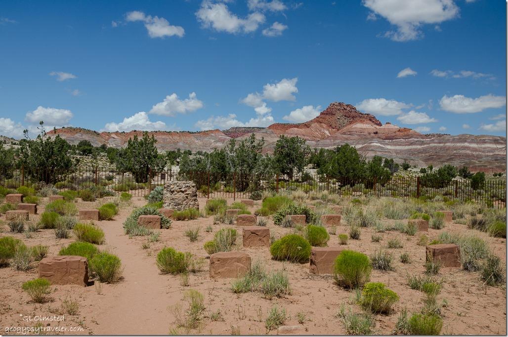 Paria Cemetery Paria River Road Grand Staircase-Escalante National Monument Utah