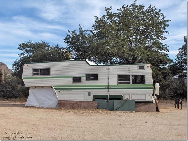 RV home in Yarnell Arizona