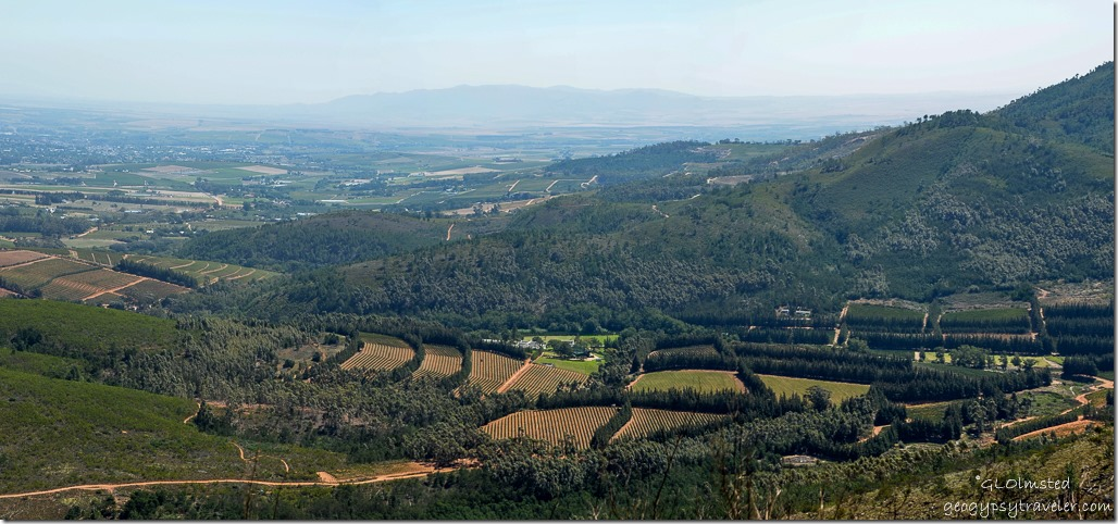 Valley view Bain's Kloof R301 South Africa