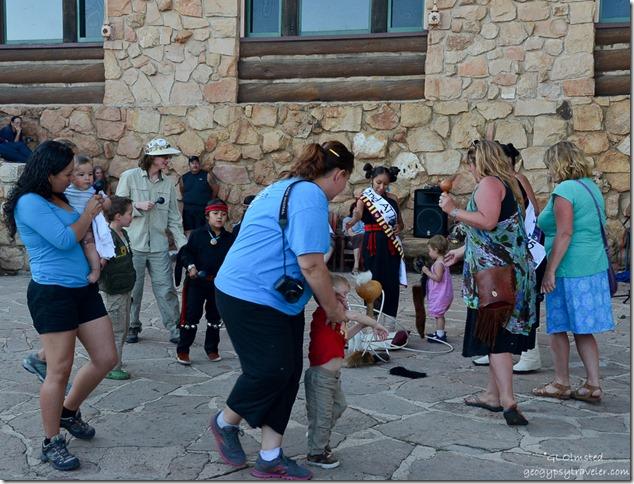 Miss Hopi & attendents & Dog tail dance Heritage Days North Rim Grand Canyon National Park Arizona