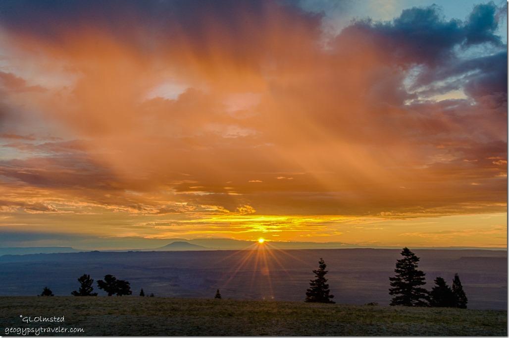 sunrise Marble View Kaibab National Forest Arizona