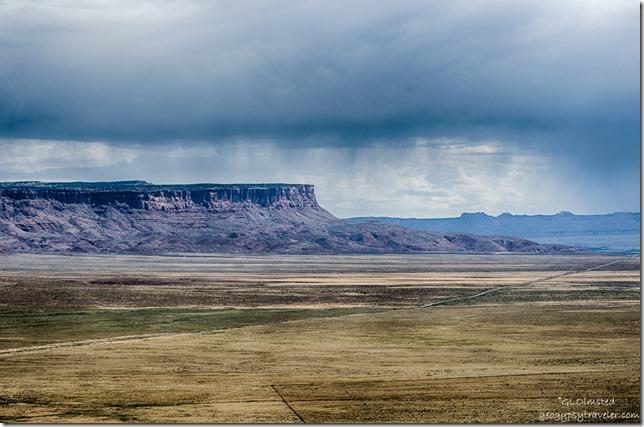 stormy sky Marble Platform Vermilion & Echo Cliffs SR89A Kaibab National Forest Arizona