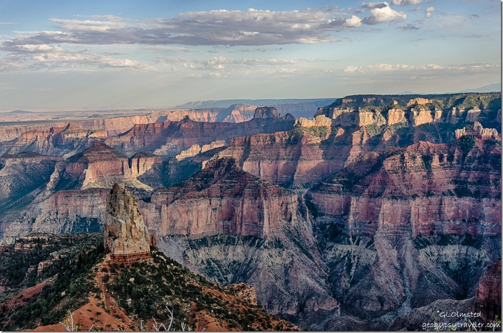 Mount Hayden & canyon from Point Imperial North Rim Grand Canyon National Park Arizona