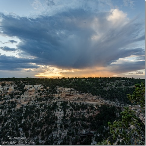 sunset Cape Royal Wedding Site North Rim Grand Canyon National Park Arizona