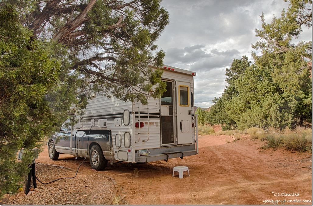 truck camper Kanab Utah