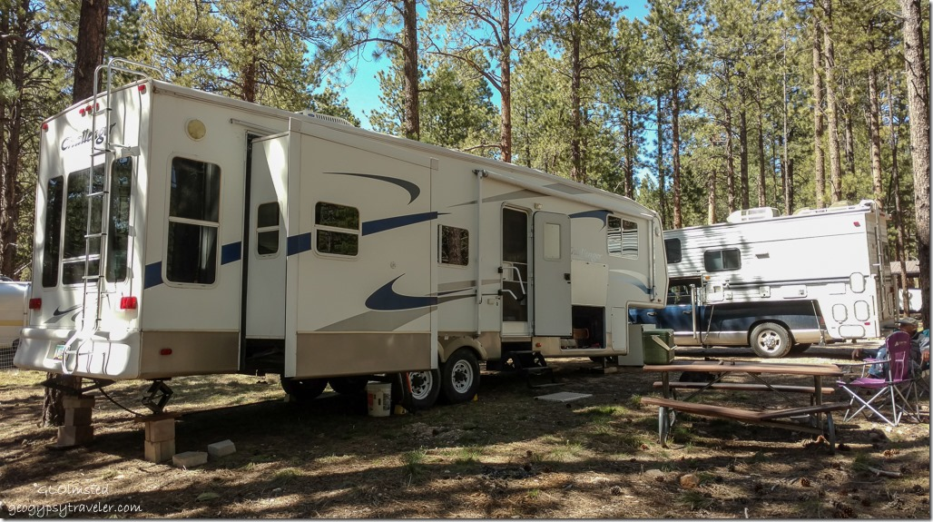 RVs #9 Abbey Road North Rim Grand Canyon National Park Arizona