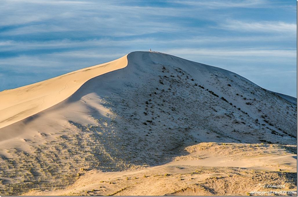 late light Kelso Dunes Mojave National Preserve California
