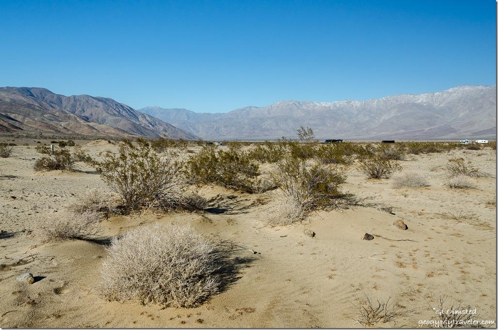 Coyote & Santa Rosa Mountains Anza-Borrego Desert State Park California