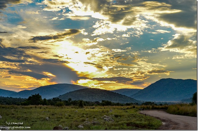 Sunset Pilanesberg Game Reserve South Africa