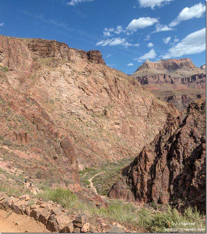 Bright Angel trail Grand Canyon National Park Arizona