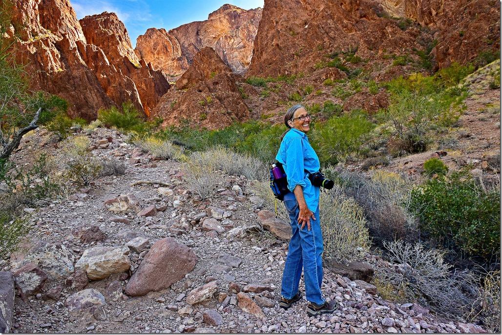 Gaelyn Palm Canyon Kofa NWR Arizona by T Morse