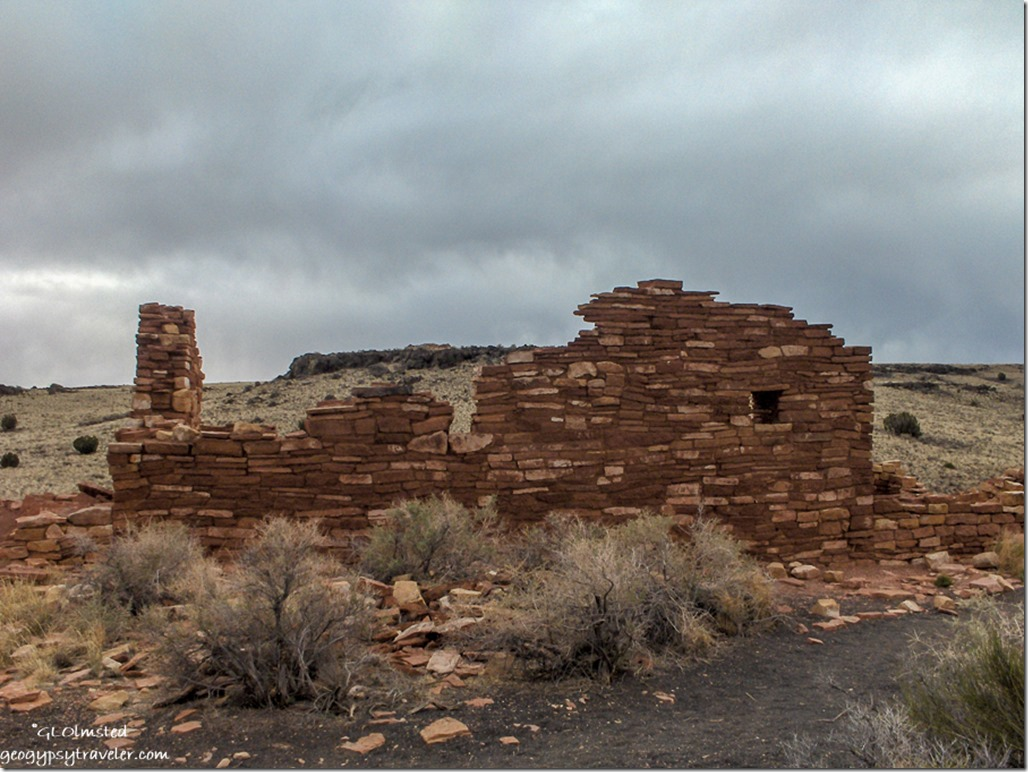 Box Canyon Dwelling Wupatki National Monument Arizona
